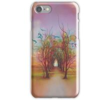 Birds of Rainbow Mist iPhone Case/Skin