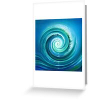 The Return Wave Greeting Card
