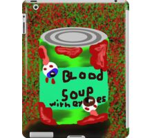 Blood soup with eye's iPad Case/Skin