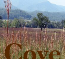 """Cades Cove""... prints and products Sticker"
