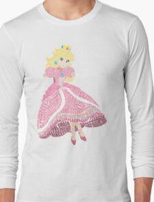 Peachy Princess Long Sleeve T-Shirt