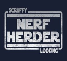 Scruffy Looking Nerf Herder by OriginalApparel
