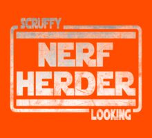 Scruffy Looking Nerf Herder Kids Tee