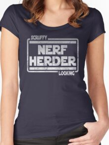 Scruffy Looking Nerf Herder Women's Fitted Scoop T-Shirt