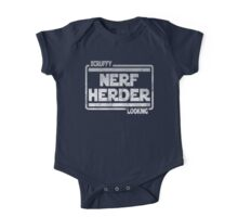 Scruffy Looking Nerf Herder One Piece - Short Sleeve