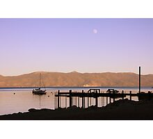 Dusk on the lake Photographic Print