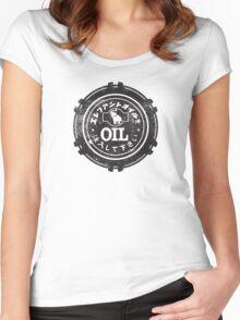 Datsun Oil Cap Women's Fitted Scoop T-Shirt