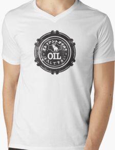 Datsun Oil Cap Mens V-Neck T-Shirt