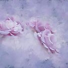 Romance A Trio Of Purple Roses by Diane Schuster
