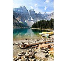 Moraine Lake Banff National Park Photographic Print