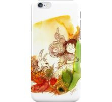 """PEEKABOO"" from the series ""Angels of Protection"" for Kids iPhone Case/Skin"