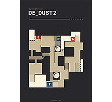 Counter-Strike de_dust2 Photographic Print