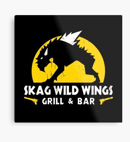 Skag Wild Wings Metal Print