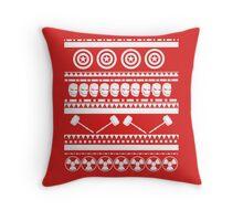 Avengers Christmas Throw Pillow