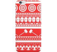 Avengers Christmas iPhone Case/Skin