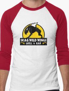 Skag Wild Wings Men's Baseball ¾ T-Shirt