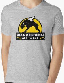 Skag Wild Wings Mens V-Neck T-Shirt