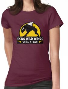 Skag Wild Wings Womens Fitted T-Shirt
