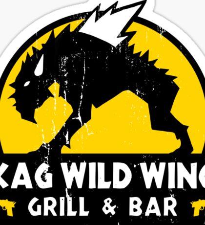 Skag Wild Wings Sticker