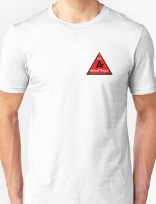 A+ blood type information / stay safe, I suggest application to helmets Unisex T-Shirt