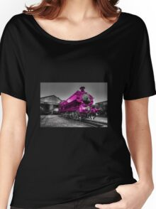 The Pink Pannier Women's Relaxed Fit T-Shirt