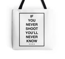 THE 1975 - ROBBERS BLACK FONT Tote Bag