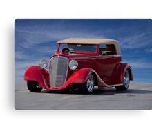 1934 Chevrolet Phaeton Canvas Print