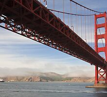 Golden Gate Bridge by Susan Leonard