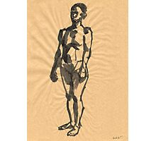 african woman Photographic Print
