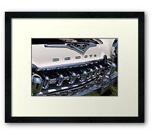 The car as art: DeSoto Firedome (1955) Framed Print