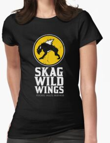 Skag Wild Wings (alternate) Womens Fitted T-Shirt