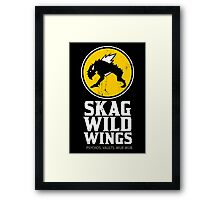 Skag Wild Wings (alternate) Framed Print