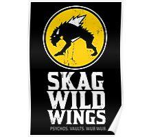 Skag Wild Wings (alternate) Poster