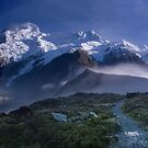 Hooker Valley by Lesley Williamson