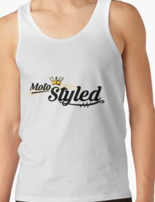 Moto Styled (Cafe Racer) Tank Top