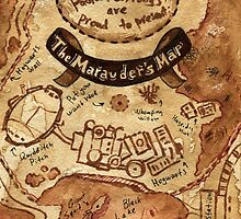 Marauders Map by beyondthepines