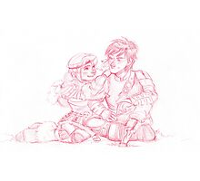 Astrid and Hiccup Photographic Print