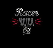 Racer motor oil by Susanna Olmi