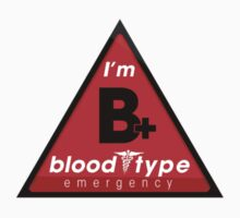 B+ blood type information / stay safe, I suggest application to helmets by VisualAffection