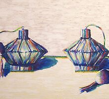 perfume bottles by SarahKT
