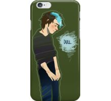 Dull iPhone Case/Skin