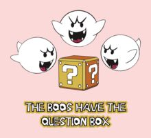 The Boos have the question box One Piece - Long Sleeve