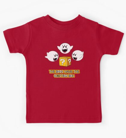 The Boos have the question box Kids Tee