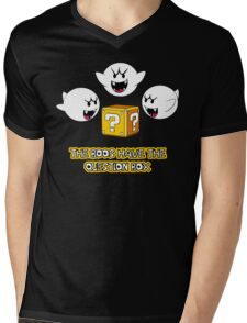 The Boos have the question box Mens V-Neck T-Shirt