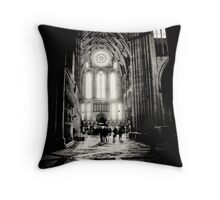 A single rose for the 14th Throw Pillow