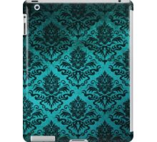 Teal Damask iPad Case/Skin