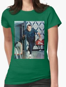 Richard Nixon Bowling Womens Fitted T-Shirt