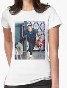Richard Nixon Bowling Womens Fitted T-Shirt
