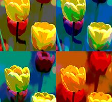 Colorized Tulips by danielle02