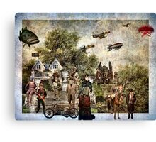 Theatre Of The Absurd #11 (Steampunk variant) Canvas Print